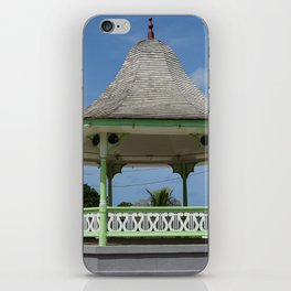A bandstand in Barbados iPhone Skin