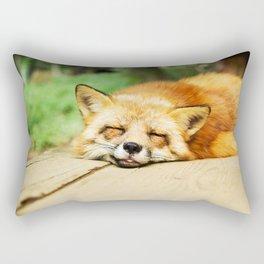 Cutie Foxy Nappy Rectangular Pillow