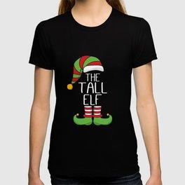 Funny Christmas Elf - The Tall Elf T-shirt