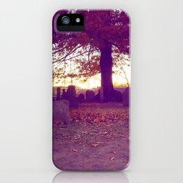 Historic Salem Cemetery iPhone Case