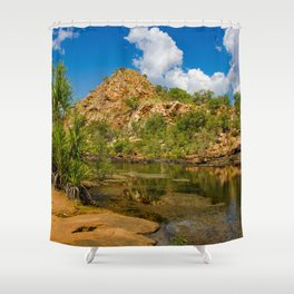 Bell Gorge Shower Curtain