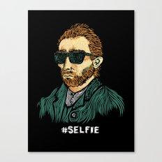 Van Gogh: Master of the #Selfie Canvas Print