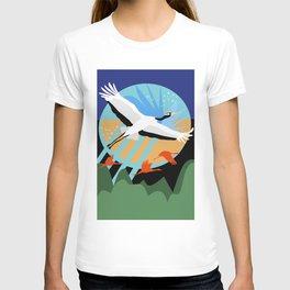 Majestic Crane {7} T-shirt
