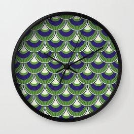 Koi Nobori Midori Wall Clock
