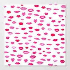 Kiss Kiss Bang Bang Canvas Print