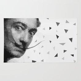 Dali triangles Rug