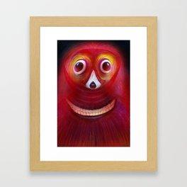 Red Ghost Framed Art Print