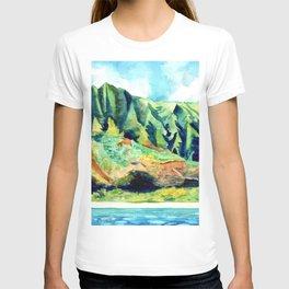 Kauai's Na Pali Coast T-shirt