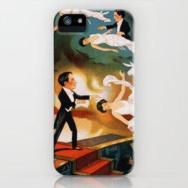 Vintage Magician Thurston Levitation iPhone Case