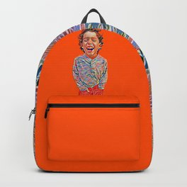 Portrait of a Happy Child Backpack