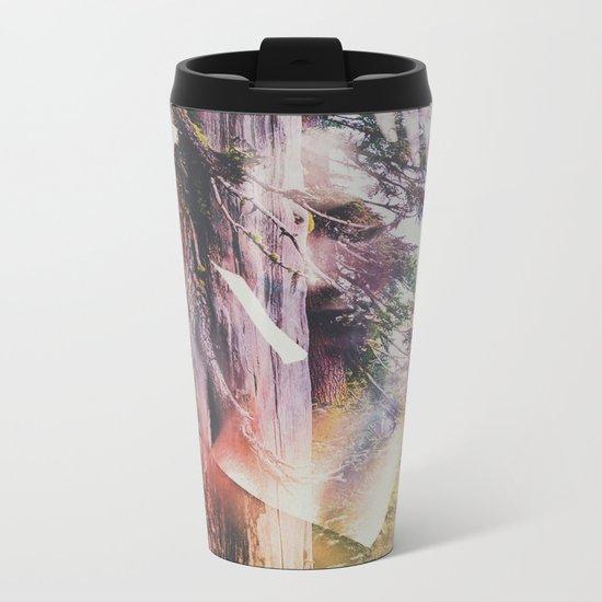 Wilderness Heart I Metal Travel Mug