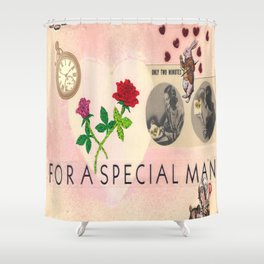For A Special Mad Man Shower Curtain