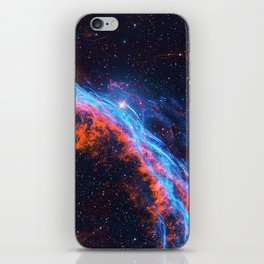 Nebula and stars iPhone Skin