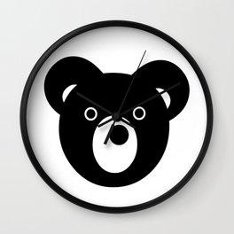 Bear Faced Wall Clock