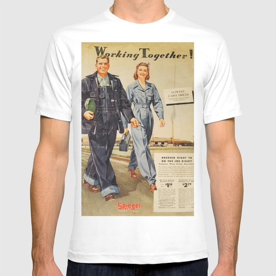 1942 Working Together Cover T-shirt