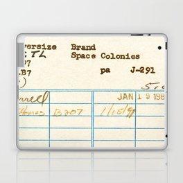 Library Card 797.B7 Laptop & iPad Skin