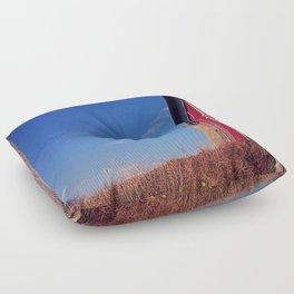 The barn  Floor Pillow