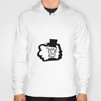 lincoln Hoodies featuring Lincoln by artistalyway