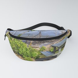 Picnic by the shore Fanny Pack