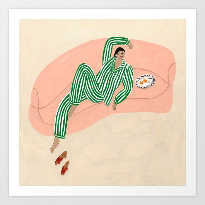 Yolke Girl Kunstdrucke