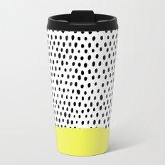 Polka dot rain dip Travel Mug