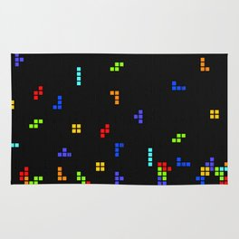 Tetris Time Rug