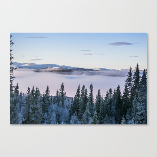 The forest in me Canvas Print