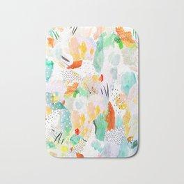 toto: abstract painting Bath Mat