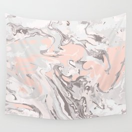 Effect Marble pink Wall Tapestry