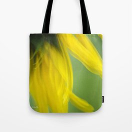 Sunflower Abstract Tote Bag