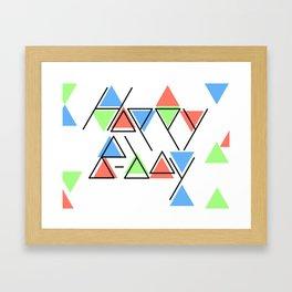 Happy B Day Framed Art Print