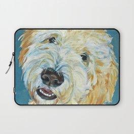Stanley the Goldendoodle Dog Portrait Laptop Sleeve