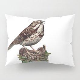 Song Sparrow Pillow Sham