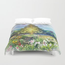 The Heart of The Forest Duvet Cover