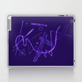 Kandinsky - Purple Abstract Art Laptop & iPad Skin