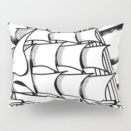 Rough Seas Pillow Sham