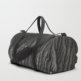 Blackwater Park - abstract watercolor monotype Duffle Bag