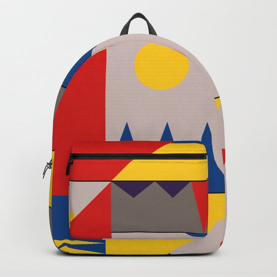 LANDSCAPES FROM THE PAST Backpack