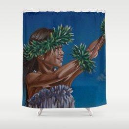 Hula Sky Shower Curtain