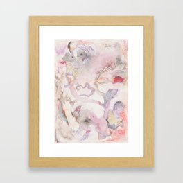 Soft and Wild Framed Art Print