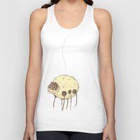 spider Tank Tops featuring Spider by Of Lions And Lambs