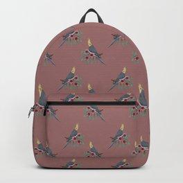 Normal Grey Cockatiel Backpack