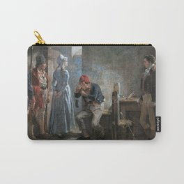 12,000pixel-500dpi - Arturo Michelena - Charlotte Corday - Digital Remastered Edition Carry-All Pouch