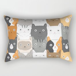Herded Cats Rectangular Pillow
