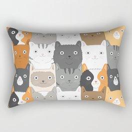 Herded Cats Rectangular Pillow