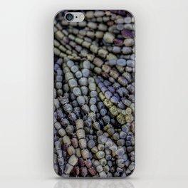 seaweed beads iPhone Skin