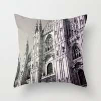 milan Throw Pillows featuring Milan by very giorgious