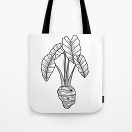 UrbanNesian Taro Tote Bag