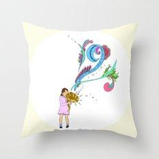 Make Noise Throw Pillow