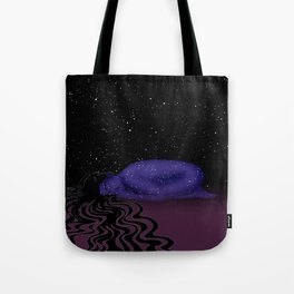 Nuit, The Lady of the Stars Tote Bag